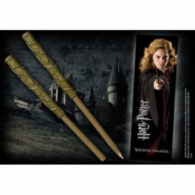 Penna e segnalibro di Hermione