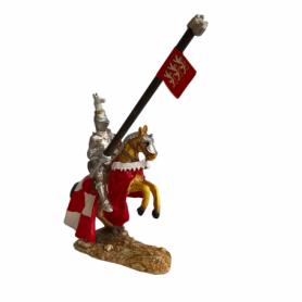 Cavaliere in resina