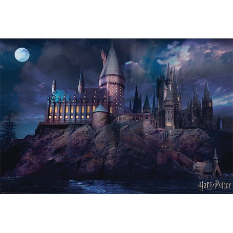 Maxi poster Castello di Hogwarts