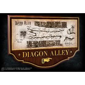 Mappa Diagon Alley