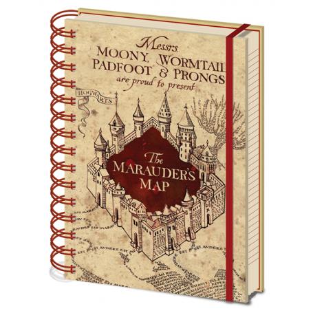 Notebook Mappa del Malandrino