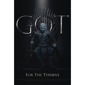 Poster Re della Notte-GOT