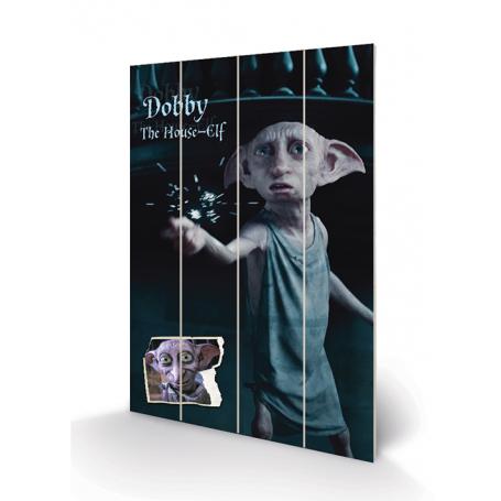 Stampa Dobby su legno