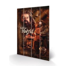 Stampa Hagrid su legno