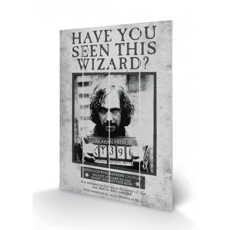 Stampa Sirius su Legno