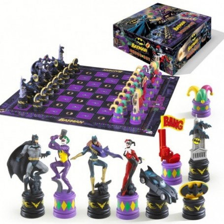 Scacchiera Batman contro Joker
