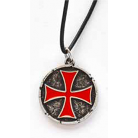 Ciondolo Croce Templare
