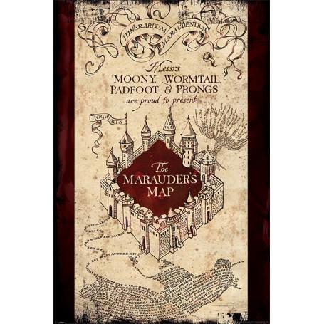Poster Mappa del Malandrino