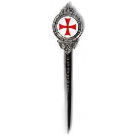 Tagliacrte Templare smaltato