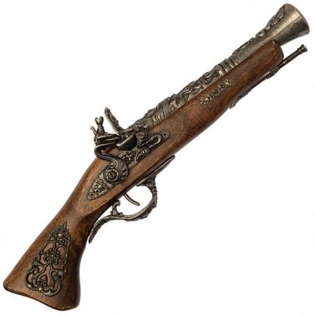 Pistola a focile sec. XVIII