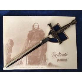 Mini spada Highlander bronzo