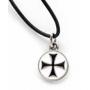 Ciondolo Templare Croce Nera