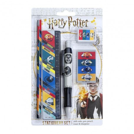 Set Scuola Casate Harry Potter