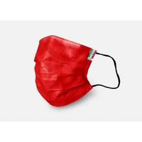 Mascherina Chirurgica Lavabile DM PROTECTS-Rossa