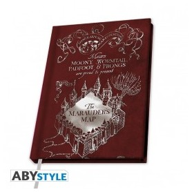 Notebook Mappa Malandrino
