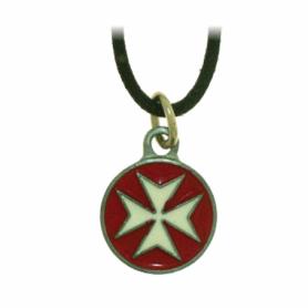 Portachiavi Templare Croce Nera