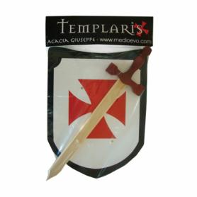 Set Scudo Templare e spada